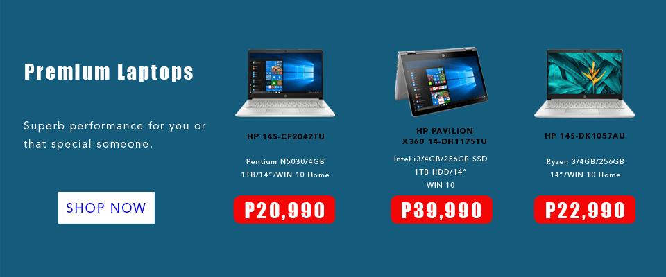 HP Laptops Premium